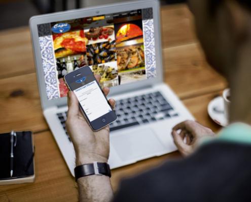 sito web osteria capri