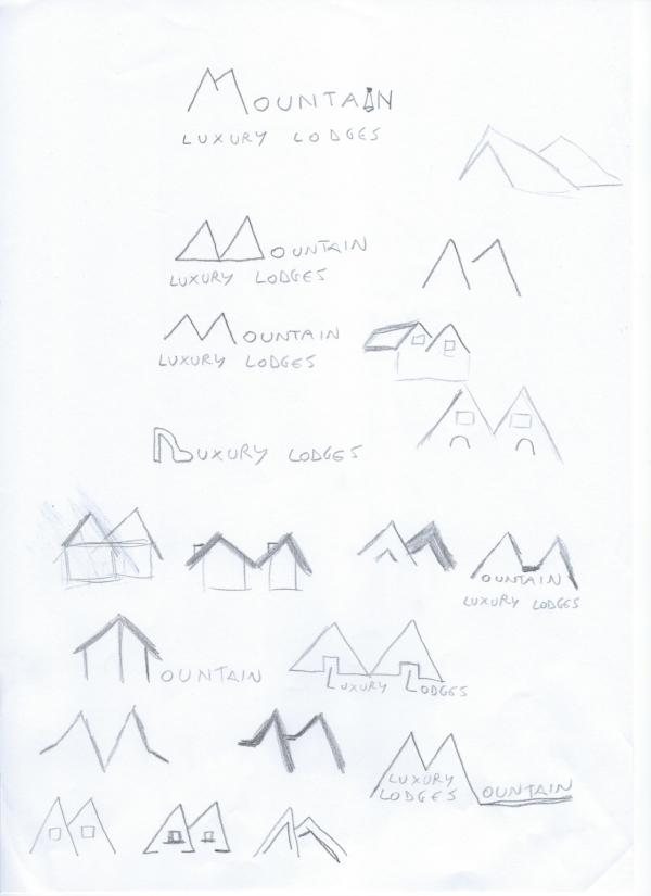 Sketching logo professionale