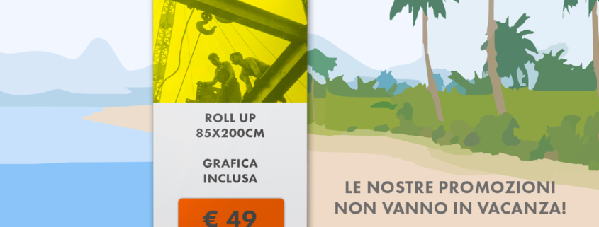 offerta stampa rollup