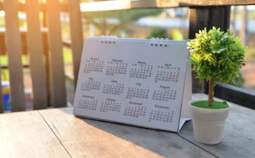 Stampa calendari da parete